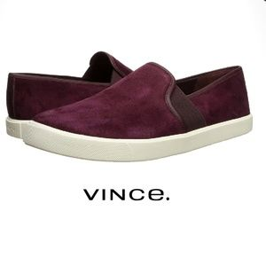 Chic Suede Vince Slip-On Sneaker